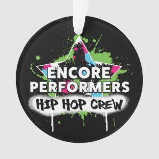 ACRYLIQUE d'ornement d'ÉQUIPE de hip hop