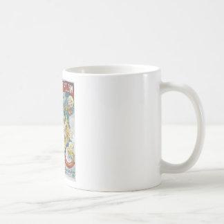 Acte magique vintage de magicien français de ~ de mug