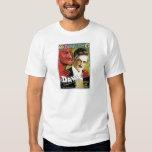 Acte magique vintage du magicien de l'Europe de ~ T-shirts