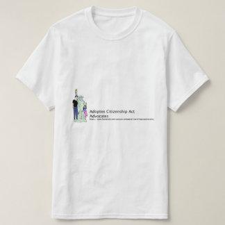 Actes de citoyenneté d'adopté t-shirts