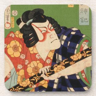 Acteur japonais (#1) dessous de verre de liège