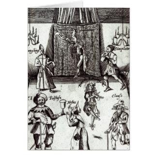 Acteurs comiques dans la représentation, 1662 cartes