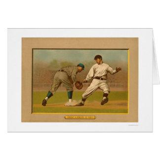 Action 1911 de jeu de carte de base-ball