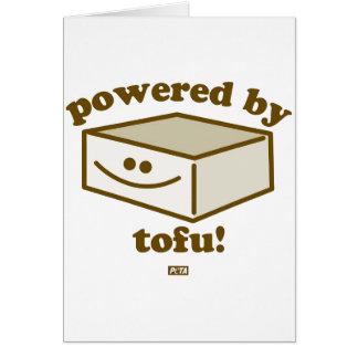 Actionné par la carte de tofu