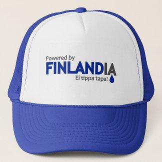 Actionné par le casquette de Finlandia -