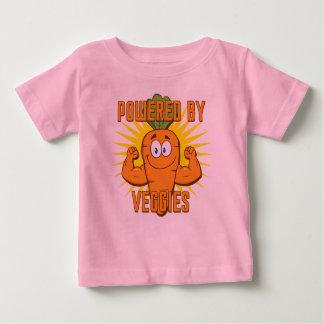 Actionné par le légume t-shirt pour bébé