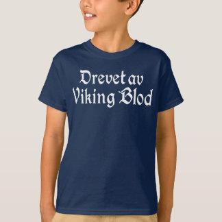Actionné par le T-shirt de Norvégien de sang de