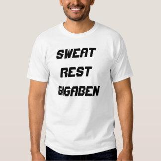 ActiveWear de Gigaben des hommes T-shirts