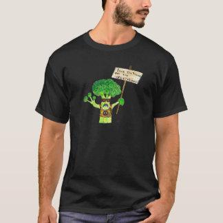 Activiste humoristique de brocoli t-shirt