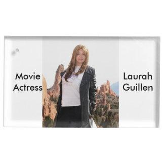 Actrice Laura Guillen aka Ishah de film Porte-numéro De Table