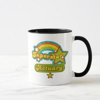 Actuaire de superstar mug