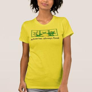 Actuaires toujours Excel T-shirt