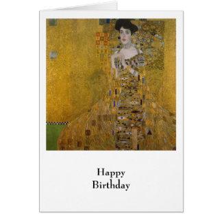 Adele Bloch Bauer par Gustav Klimt Carte De Vœux