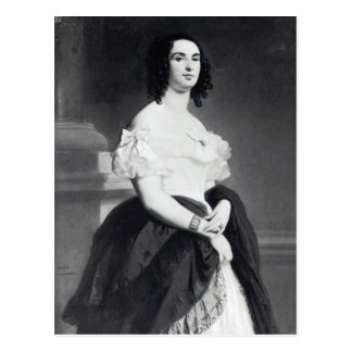 Adele Foucher 1839 Carte Postale