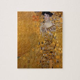 Adele, Madame en or - Gustav Klimt Puzzle