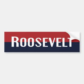 Adhésif pour pare-chocs 1940 de Roosevelt Autocollant Pour Voiture