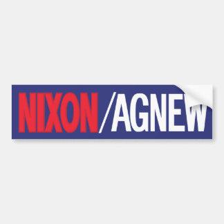 Adhésif pour pare-chocs 1968 de Nixon Autocollant De Voiture