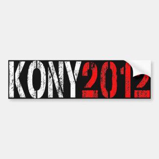 ADHÉSIF POUR PARE-CHOCS 2012 DE KONY AUTOCOLLANT POUR VOITURE