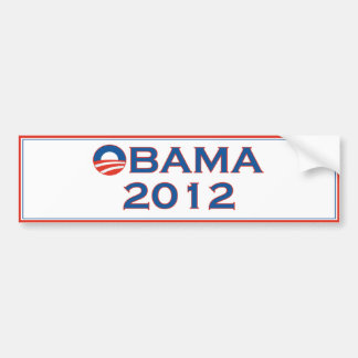 Adhésif pour pare-chocs 2012 d'élection d'Obama Autocollant Pour Voiture