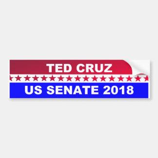 Adhésif pour pare-chocs 2018 de sénat de Ted Cruz Autocollant De Voiture
