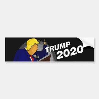 Adhésif pour pare-chocs 2020 de Donald Trump Autocollant De Voiture