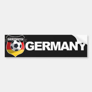 Adhésif pour pare-chocs allemand d'équipe de autocollant pour voiture
