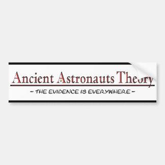 Adhésif pour pare-chocs antique de théorie d'astro autocollant de voiture