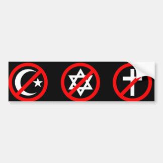 Adhésif pour pare-chocs athée autocollant de voiture