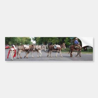 Adhésif pour pare-chocs d'ânes de paquet autocollant pour voiture
