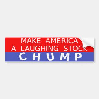 Adhésif pour pare-chocs d'anti-Atout de risée Autocollant De Voiture