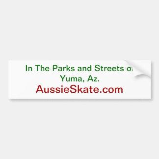 Adhésif pour pare-chocs d'AussieSkate Autocollant De Voiture