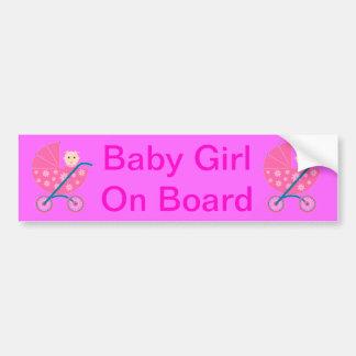 Adhésif pour pare-chocs de bébé à bord autocollant pour voiture