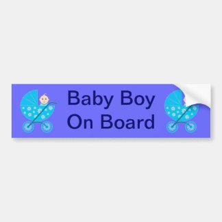 Adhésif pour pare-chocs de bébé à bord adhésifs pour voiture