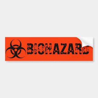 Adhésif pour pare-chocs de BioHazard Autocollant De Voiture
