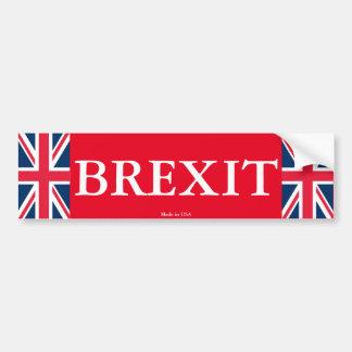 Adhésif pour pare-chocs de Brexit Autocollant De Voiture