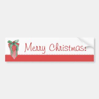 Adhésif pour pare-chocs de cadeau de Noël Autocollant Pour Voiture