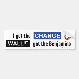 Adhésif pour pare-chocs de changement et de Benjam Autocollant Pour Voiture