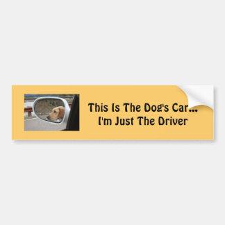 Adhésif pour pare-chocs de chien autocollant pour voiture