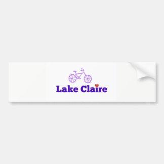 Adhésif pour pare-chocs de Claire de lac Autocollant De Voiture