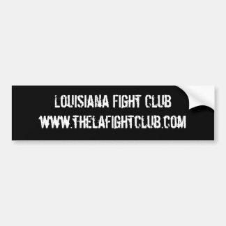 Adhésif pour pare-chocs de club de combat de la Lo Autocollant De Voiture
