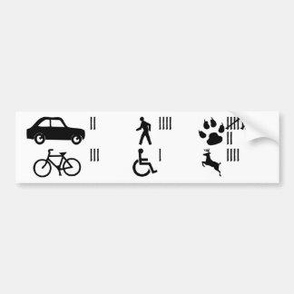 Adhésif pour pare-chocs de compteur de coup adhésifs pour voiture