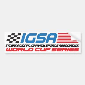 Adhésif pour pare-chocs de coupe du monde d'IGSA Autocollant Pour Voiture