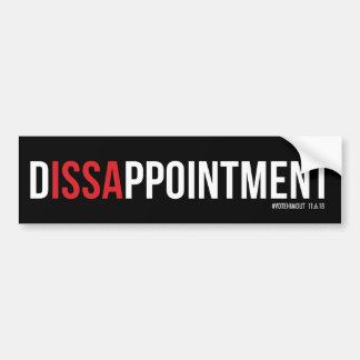 Adhésif pour pare-chocs de D-ISSA-PPOINTMENT Autocollant Pour Voiture