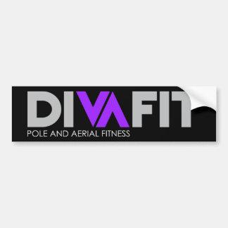 Adhésif pour pare-chocs de DivaFit (foncé) Autocollant De Voiture