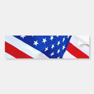 Adhésif pour pare-chocs de drapeau américain autocollant de voiture