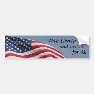 Adhésif pour pare-chocs de drapeau américain autocollant pour voiture