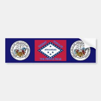 Adhésif pour pare-chocs de drapeau de l'Arkansas Autocollant De Voiture