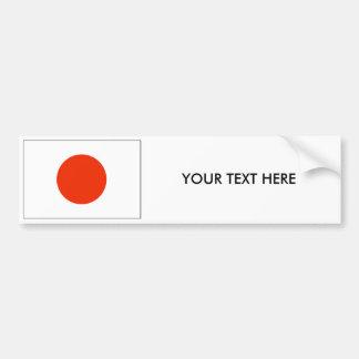 Adhésif pour pare-chocs de DRAPEAU du JAPON Autocollant De Voiture