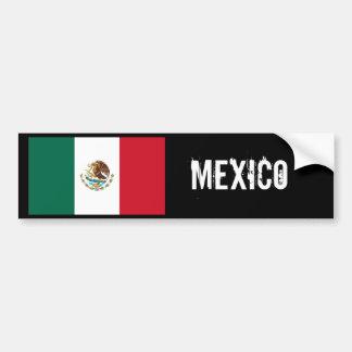 Adhésif pour pare-chocs de drapeau du Mexique Autocollant De Voiture