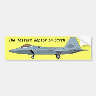 Adhésif pour pare-chocs de F-22 Raptor Autocollant Pour Voiture
